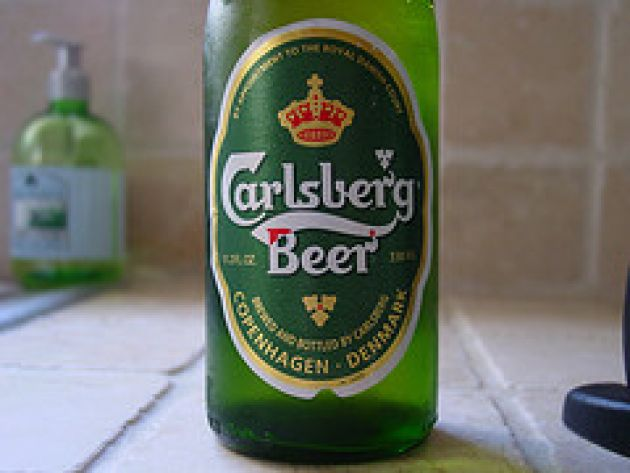 About Carlsberg's slogan - probably the best lager in the world
